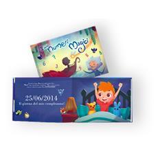 I Miei Numeri Magici - Libro Personalizzato Per Bambini - Protagonista Bambino Rosso - Contattaci Per Personalizzare