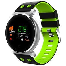 Smart Band K2 Water Resistant Ip68 Activity Tracker Fitness Cardiofrequenzimetro Pressione Sanguigna Green