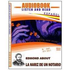 La nariz de un notario. Audiolibro. CD Audio. Con CD-ROM
