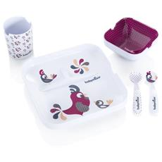 Lovely Set Pappa (5 pezzi) Colore: Galletto