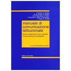 Manuale di comunicazione istituzionale
