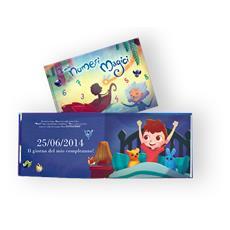 I Miei Numeri Magici - Libro Personalizzato Per Bambini - Protagonista Bambino Castano - Contattaci Per Personalizzare