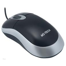 SM-25 Optical Mouse, PS / 2, Ottico, 800 DPI, 1,4m, Windows 98SE / Me / 2000 / XP, 120 x 55 x 40 mm