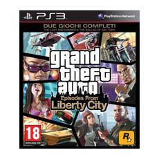 PS3 - GTA Grand Theft Auto: Episodes From Liberty City