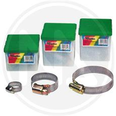 Fascetta Stringitubo Acc. inox L. 12mm. - 90x110mm. - 10pz.