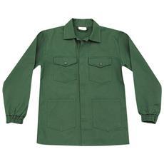 Giacca Serie 150 In Cotone Colore Verde Muschio Taglia 54