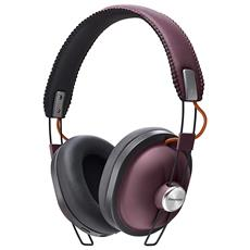 PANASONIC - Cuffie con Microfono Wireless Colore Bordeaux 01f9b2e6c740
