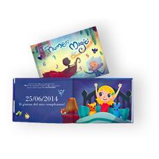 I Miei Numeri Magici - Libro Personalizzato Per Bambine - Protagonista Bambina Bionda - Contattaci Per Personalizzare