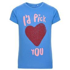 Nitveenki Light Ss Top T-shirt Manica Corta Bambina Cm 134