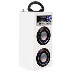 TS-78 BT USB SD AX 6W Rettangolo Bianco