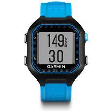 Forerunner 25 GPS con funzione Contapassi Calorie e Sonno Taglia Large - Nero / Blu