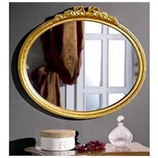 Specchiera In Legno Ovale Da L54 H48 P4