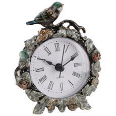 Ornate Orologio Vintage Da Scaffale Con Uccellino (taglia Unica) (multicolore)