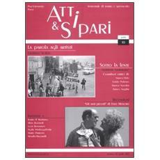 Atti & sipari (2012) . Vol. 10