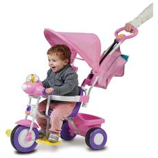 Triciclo Baby Plus Rosa 1497 / RS