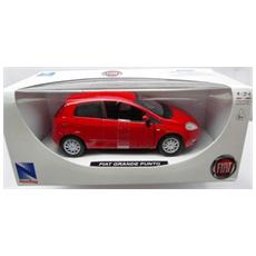 DieCast 1:24 Auto Fiat Grande Punto Rosso 71013I