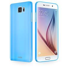Cover Fluo Blu Per Samsung Galaxy S6