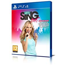 PS4 - Let's Sing 2016 + 1 Microfono