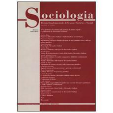 Sociologia. Rivista quadrimestrale di scienze storiche e sociali (2010) . Vol. 3 Sociologia. Rivista quadrimestrale di scienze storiche e sociali (2010)