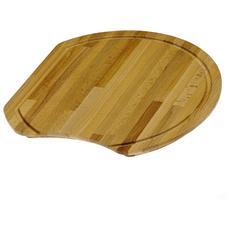 Tagliere Rotondo in faggio listellare 30023.00 serie accessori