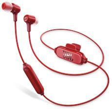 Auricolari In-Ear Wireless E25BT Bluetooth colore Rosso