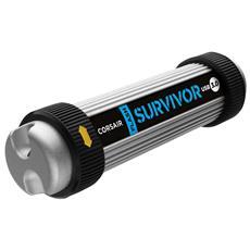 Chiavetta USB Survivor 32 GB Interfaccia USB 3.0 Colore Nero / Alluminio