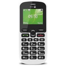 "PhoneEasy 508 Senior Phone Bianco Display 1.8"" Bluetooth con Tasti Grandi + Tasto SOS - Vodafone Italia"