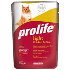 Cibo per gatti Light Chicken & Rice 85 gr