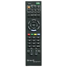 Telecomando Dedicato Tv Sony Nero