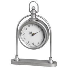 Orologio Da Tavolo Con Base (taglia Unica) (argento)