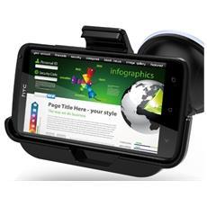 CM2C-HTOX Auto Active holder Nero supporto per personal communication