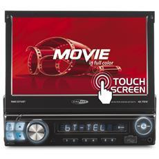 """Sintolettore USB / SD RMD574BT con Monitor Estraibile 7"""" Potenza 4 x 75 W Supporto DivX / JPEG / MP3 / MPEG4 / WMA Nero"""