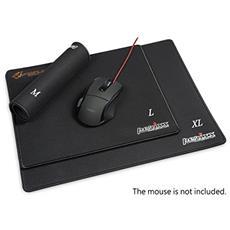 DX-2000XL Nero, Grigio, Rosso, Giallo tappetino per mouse