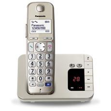KX-TGE220 Telefono Cordless Digitale con Segreteria Telefonica Champagne