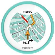 """VIO Navigatore Fisso 2.4"""" Touchscreen Mappe Europa con Traffic a vita 310g Nero"""