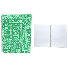 Maxi Spiralato Linea Colour Touch 1 Rigo Verde