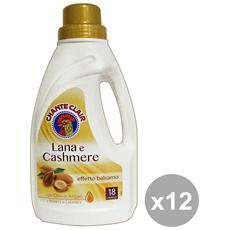 Set 12 Bucato Lana-cashmere Argan 900 Ml. Detergent