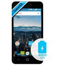 "Volt X Nero 8 GB 4G / LTE Dual Sim Display 5"" Slot Micro SD Fotocamera 8 Mpx Android Europa"