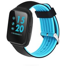 "Smartwatch Z40 Display 1.54"" con Cardiofrequenzimetro Bluetooth Azzurro– Europa"