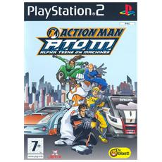 PS2 - Action Man A. T. O. M. Alpha Teens On Machines