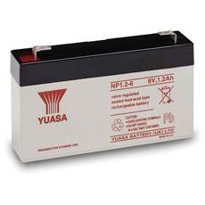 IBT-PS-NP126 - Batteria al Piombo 6V 1.2Ah NP1.2-6 (Faston 187 - 4,8mm)