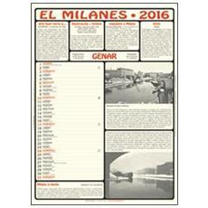 Milanes. Calendario 2016. Con libro (El)