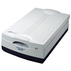 ScanMaker 9800XL Plus, 305 x 429,26 mm, 1600 x 3200 DPI, 48 Bit, Film / slide, Nero, Grigio, CCD