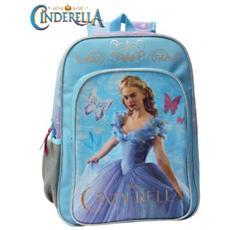 4212351 Zaino A Spalla Scuola Cinderella Disney Cartella Cenerentola 30 X 40 X 16 Cm