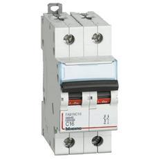 Fa81nc16 - Btdin45 -interruttore Magnetotermico 1p+n Curva C 16a 4,5ka