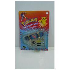 Pokemon Mini-skateboard Portachiavi Con Ruote E Accessori - Nidora - 8000144512157