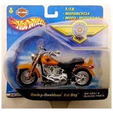 2000 Hot Wheels - Harley Davidson Fat Boy - Scala 1:18