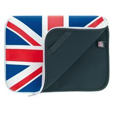 "Laptop Sleeve UK 10""-11"" 10"" Custodia a tasca Multicolore"