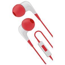 """2XS, 3.5 mm (1/8"""") , Intraurale, Rosso, Bianco, Stereofonico, Interno orecchio, Cablato"""