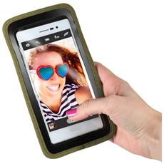 """Custodia Universale per Smartphone fino a 5"""" Colore Verde"""